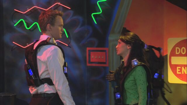File:Barney and Nora lasertag.jpg