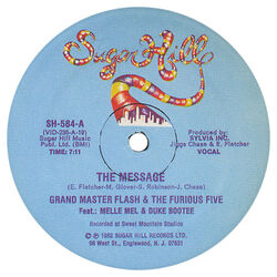 The Message (Grandmaster Flash and the Furious Five song)