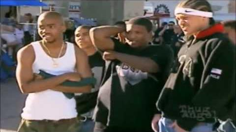 2pac Snoop Dogg & His Crew Outlawz unseen behind the scenes footage of 2 of amerikaz most wanted