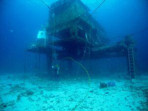 Aquarius habitat external