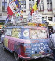 Flower-Power Bus