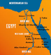 River-nile-map