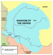 Map of Gepidia