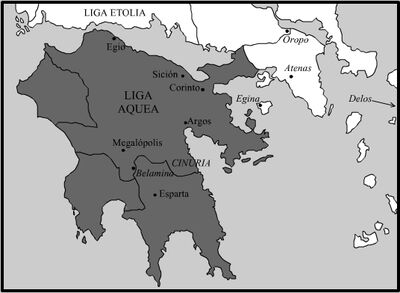 Achaean League-150 BC