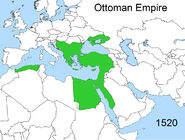 Territorial changes of the Ottoman Empire 1520
