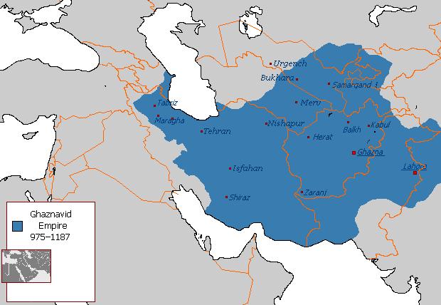 File:Ghaznavid Empire 975 - 1187 (AD).PNG