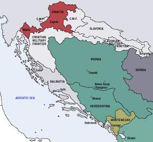 Kingdom of Croatia-1868