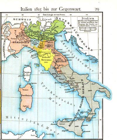 Italy 1815