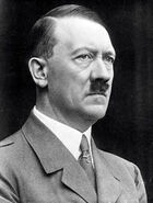 Adolf Hitler portrait side