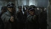 Mohnke Gunsche pointing pistols