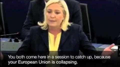 Marine Le Pen vs. Merkel & Hollande