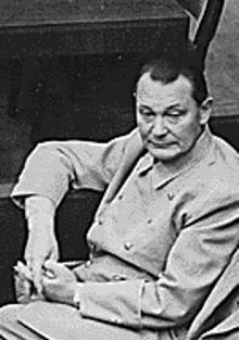 File:Hermann Göring at Nuremberg Trials.jpg