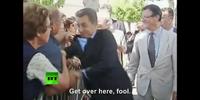 Hitler attacks President Sarkozy