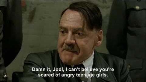 Hitler Vs Justin Bieber Fans I