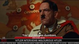 Hitler interviews Inglourious Hitler