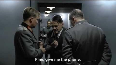 Hitler phones Hitler The Last Ten Days
