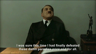 Hitler is informed Constantin are not blocking parodies again