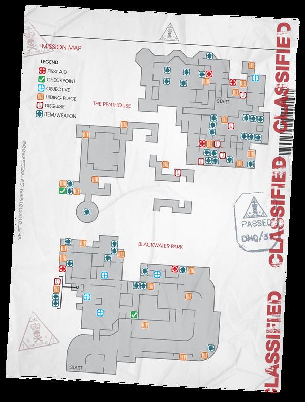 Blackwater Park Overhead Map