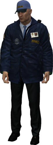 Blackwater Park Exterior Guard outfit