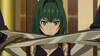 Akari is defeated