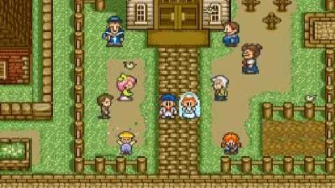 Harvest Moon Snes - Ann's Wedding