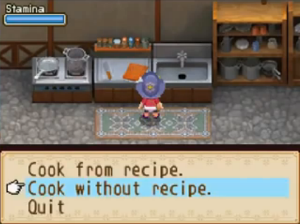 harvest moon how to cook