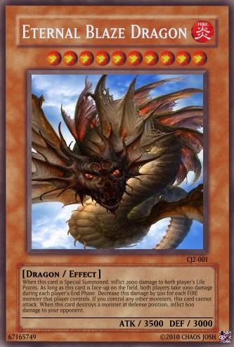 Eternal blaze Dragon