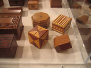 Wooden box puzzles