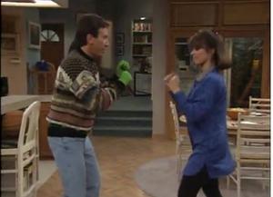 Tim and Jill Fighting