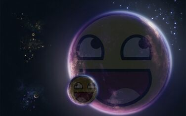 Planet Moon Epic Smiley Wallpaper Collection-s1600x1000-101395-580