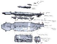 Concept carrier rough