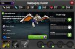 Rampaging Hunter 1-1* stats