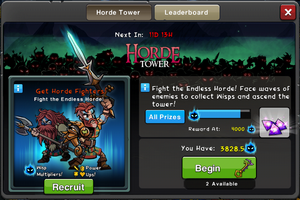 Event Horde Tower 2 window