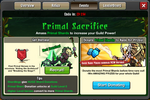 Event Primal Sacrifice Window