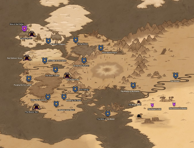 HonorBound Map-a
