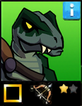 Saurian Stalker EL1 card