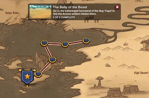 The Belly of the Beast - map