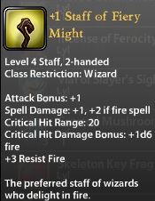 1 Staff of Fiery Might