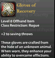 Gloves of Recovery