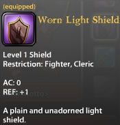Worn Light Shield