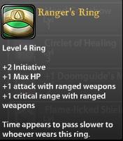 Ranger's Ring