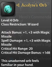 1 Acolyte's Orb