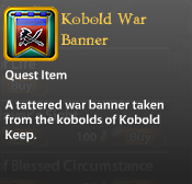 Kobold War Banner