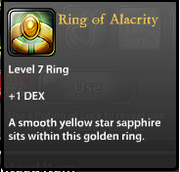 Ring of Alacrity