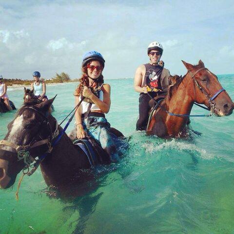 File:Taryn & Hoodie August 2014 horses.jpg