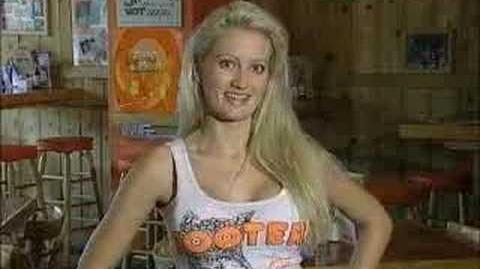 """Holly Madison in """"Hooter's Road Trip"""""""