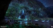 Lloyd-allan-cauldron-entrance-night