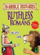 Horrible Histories Ruthless Romans Cover