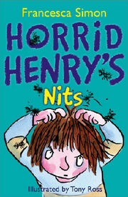 Horrid henry's nits book cover