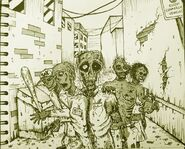 Zombie gang